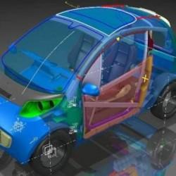 El proyecto Evolution busca aumentar la autonomía del coche eléctrico reduciendo un 40% su peso