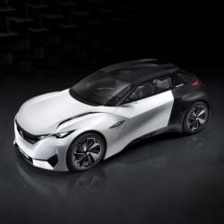 Peugeot Fractal Electric, el concept eléctrico futurista