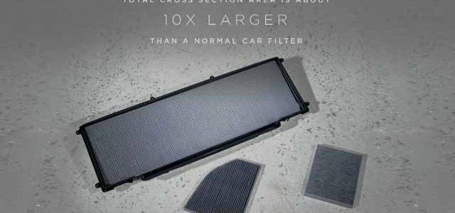 Por 750 dólares, el Tesla Model X podrá acceder al super filtro antipartículas una vez salido de fábrica