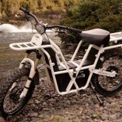 Ubco 2X2. Una moto eléctrica que se convierte en una herramienta de trabajo