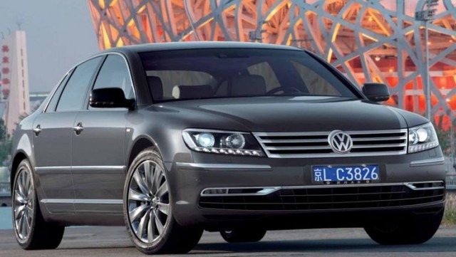 2018 Volkswagen phaeton electrico