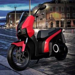 Scutum S01. Un scooter eléctrico con batería extraible