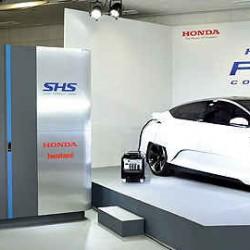 Honda Smart Hydrogen Station. Una estación capaz de producir su propio hidrógeno