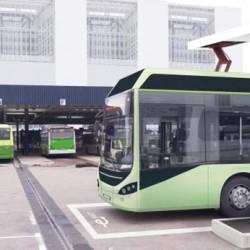Los principales fabricantes de autobuses eléctricos, menos BYD, se unen por un formato de recarga común