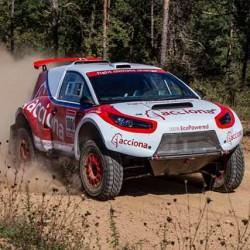 El Acciona 100% EcoPowered completa con éxito las primeras etapas del Dakar