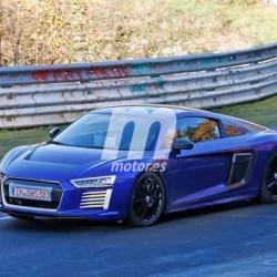 El Audi R8 e-Tron de nuevo visto en Nürburgring