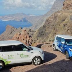 El KIA Soul EV, el primer coche eléctrico en dar una vuelta completa a Gran Canaria