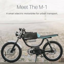 Bolt M-1. La Vespino del siglo XXI tiene motor eléctrico y pedales
