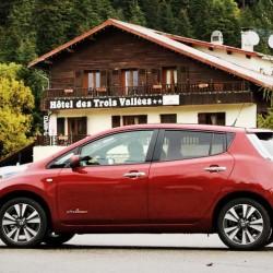 Llamada a revisión del Nissan LEAF por un problema en el freno