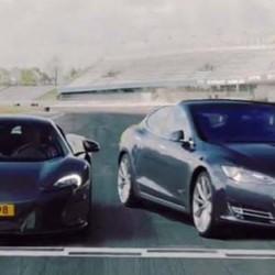 El Tesla Model S P85D vence al McLaren 650 S en una prueba hasta los 150 km/h