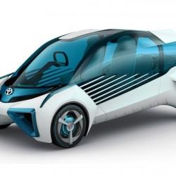 Toyota FCV Plus. Un coche a hidrógeno, y un generador eléctrico móvil