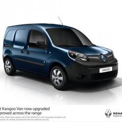 La Renault Kangoo ZE se renueva. Posibilidad de compra o alquiler de la batería