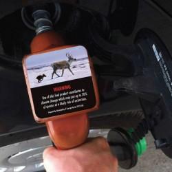 West Vancouver pondrá pegatinas sobre el cambio climático y la contaminación en las gasolineras