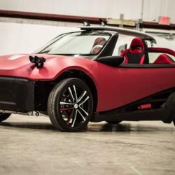LM3D. El primer coche fabricado con una impresora 3D que estará a la venta