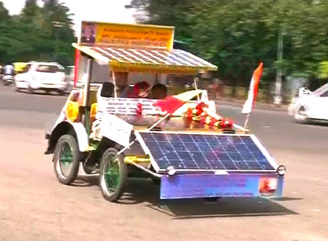 SolarIndiaCarVehicle