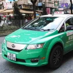 El proyecto de taxis eléctricos de BYD en Hong Kong es un fracaso