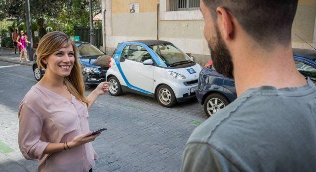 El car sharing con coches eléctricos. Un sector que no para de crecer en número de usuarios