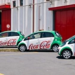 La embotelladora de Coca-Cola en Sicilia electrifica su flota con 100 coches eléctricos