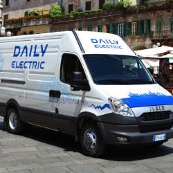 Nueva Iveco Daily Electrica. Hasta 280 kilómetros de autonomía