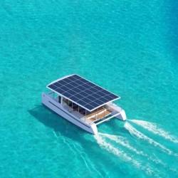 SoelCat12. Un pequeño catamarán eléctrico y solar