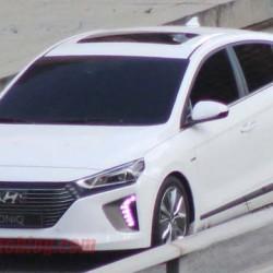 Avistado el nuevo Hyundai Ioniq antes de su presentación