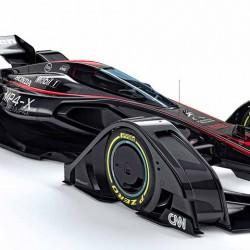 McLaren MP4-X. El futuro de la F1 será eléctrico y muy tecnológico