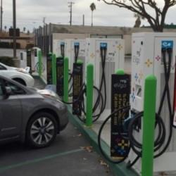 eVgo abre la mayor estación de recarga rápida multiformato de Estados Unidos en California