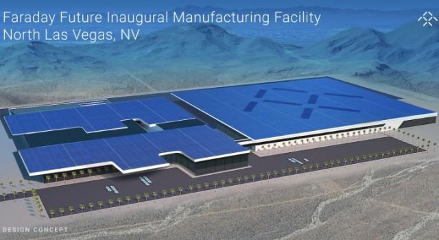Faraday Future busca un emplazamiento para una segunda fábrica