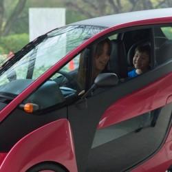 Comienzan las pruebas del Toyota i-road con dos asientos en Japón