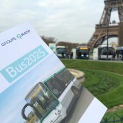 París quiere un 80% de autobuses eléctricos para 2025