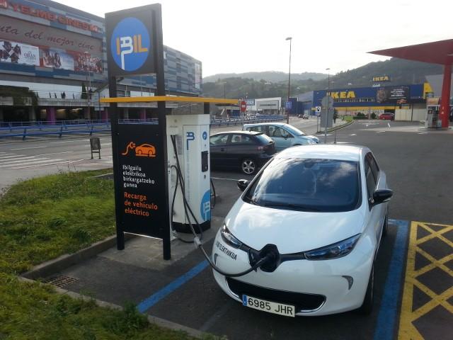 recarga rápida Renault ZOE