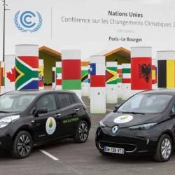 La flota de coches eléctricos de Renault-Nissan para la cumbre del clima de París recorre 175.000 kilómetros