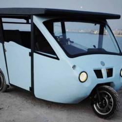 Sunnyclist. Un vehículo eléctrico, híbrido, y solar