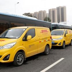 DHL estrena una flota de furgonetas eléctricas de BYD