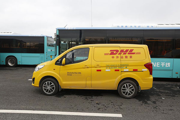 BYD T3 to DHL