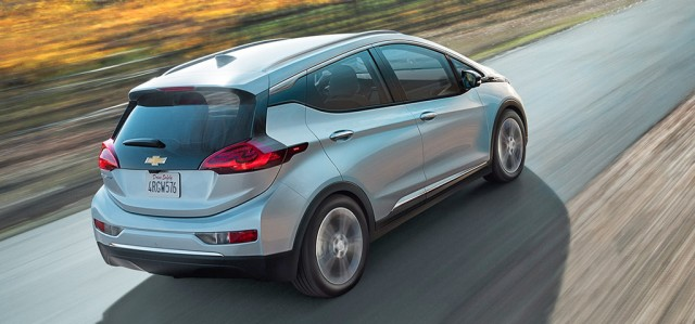 Chevrolet Bolt EV back
