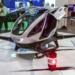 Se presenta el EHang 184 un dron eléctrico monoplaza