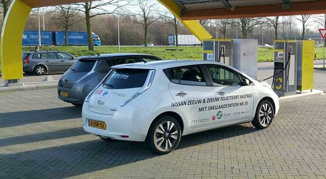 Fastned Nissan Free Charge