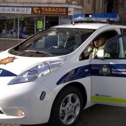 Portugalete incorpora el primer coche patrulla eléctrico de Euskadi