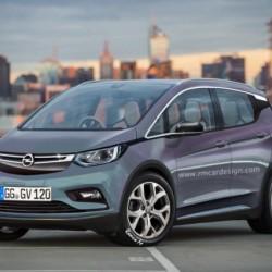 Opel Blitz. La versión europea del Bolt será presentada este año