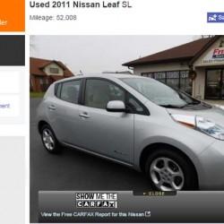 Los precios de los coches eléctricos de segunda mano se derrumban en Estados Unidos