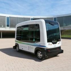 WEpod. Autobuses eléctricos y autónomos a prueba en Holanda