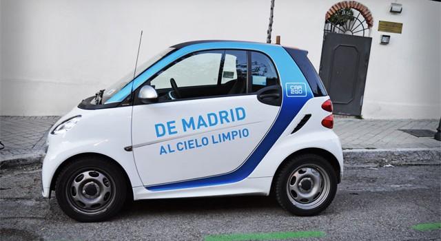 España comprará el CO2 reducido por Car2go en Madrid para contribuir con los obejtivos de reducciones de las emisiones