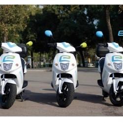 eCooltra motosharing. El sistema de alquiler de motos eléctricas por minutos de Barcelona arrancará en marzo