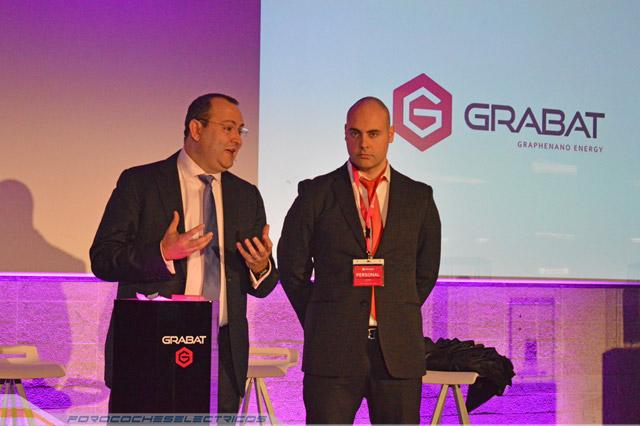 Martín Martinez, CEO de Graphenano, junto a Camilo Merino, Ingeniero de Graphenano
