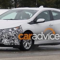 Unas fotos espía nos muestran que el Opel Ampera tendrá una segunda generación