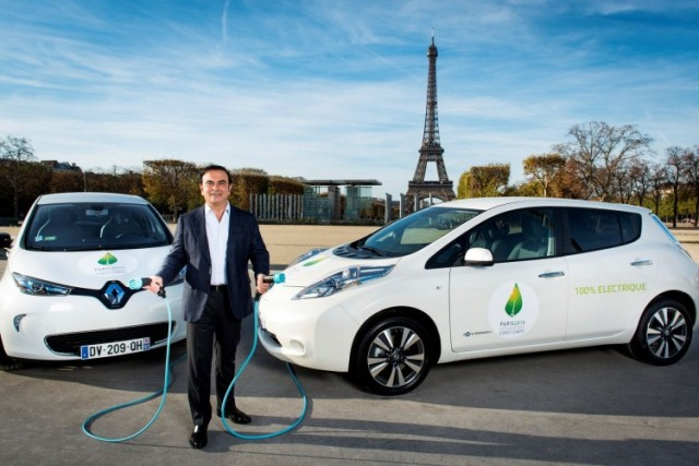PARIS (Nov. 30, 2015) Ð As the official passenger-car provider for the United NationÕs COP21 climate conference in Paris, the Alliance will provide 200 pure electric vehicles to the annual summit which runs from Nov. 30 to Dec. 11. A network of 90 charge spots has been set up to charge the vehicles using low-carbon electricity provided by French energy supplier EDF.