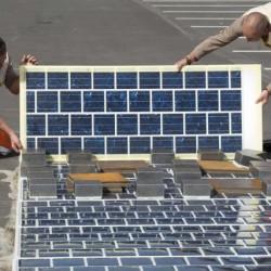Francia quiere construir mil kilómetros de carreteras solares