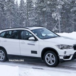 Pillado durante unas pruebas en próximo BMW X1 enchufable