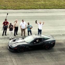 El Genovation GXE logra un récord de velocidad de un coche eléctrico de calle